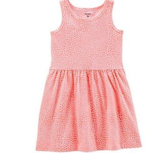 4T Carter's Orange Heart Sundress